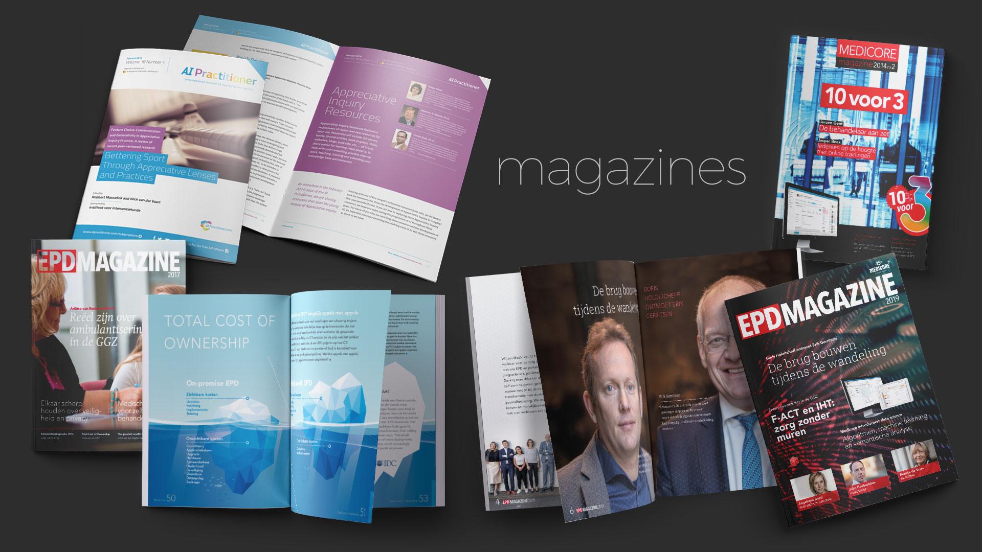 portfolio magazines