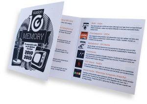 station10 memory boekje